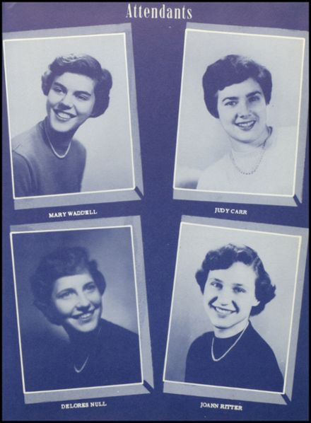 1954 Junction City High School Yearbook Page 7