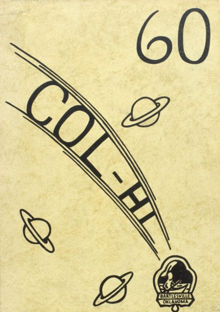 1960 College High School Yearbook Cover