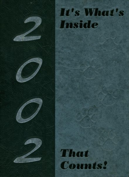 2002 Lafayette High School Yearbook Cover