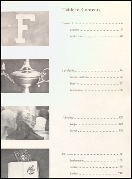 1967 Fairview High School Yearbook Page 7