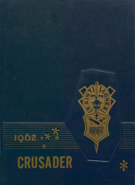 1962 St. Agnes Academy Yearbook Cover