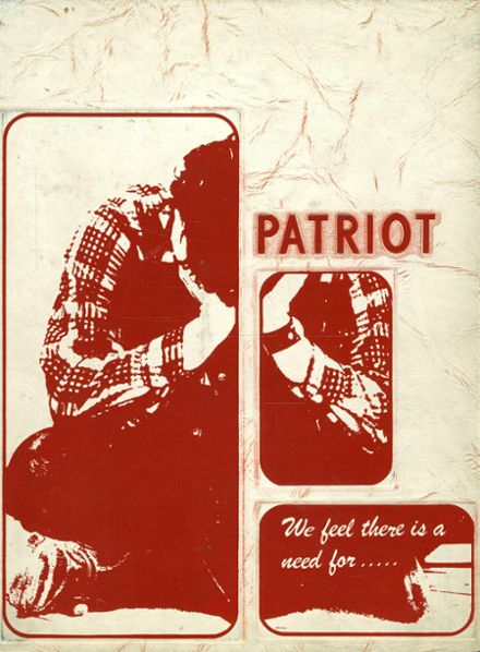 1973 Patapsco High School Yearbook Cover