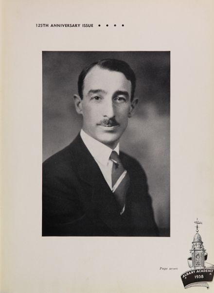 1938 Albany Academy Yearbook Page 9