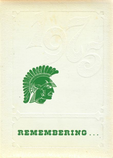 1975 Newfield High School Yearbook Cover