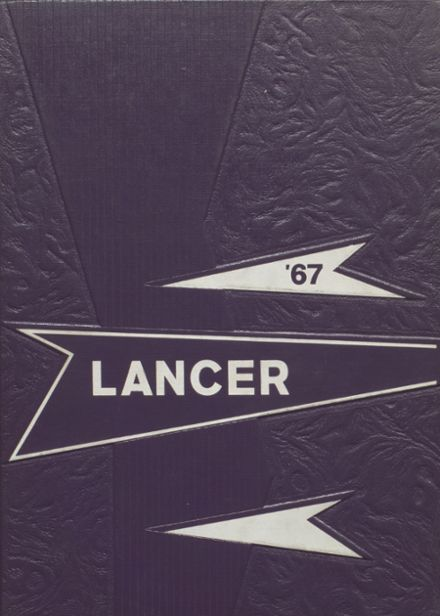 1967 Canby High School Yearbook Cover