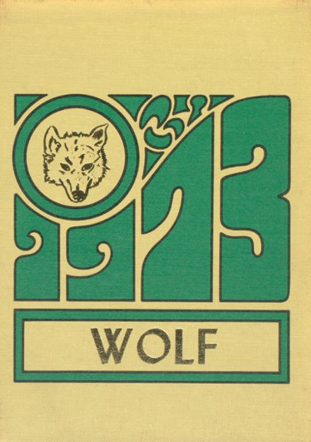 1973 Wolford High School Yearbook Cover
