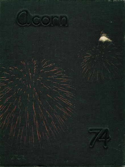 1974 Oak Harbor High School Yearbook Cover