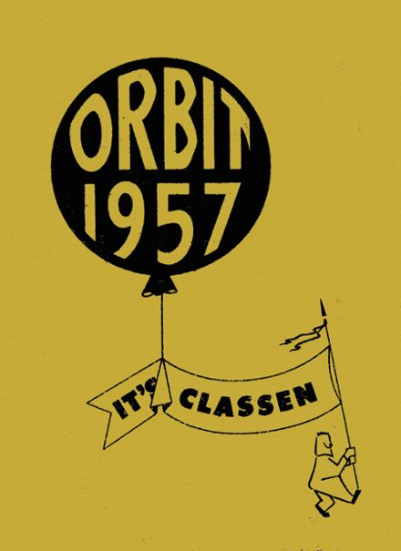 1957 Classen High School Yearbook Cover