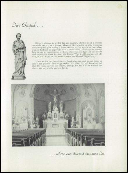 1949 Holy Ghost Preparatory School Yearbook Page 9