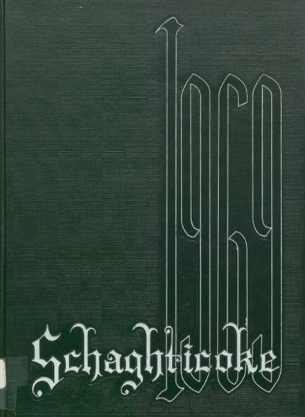 1969 New Milford High School Yearbook Cover