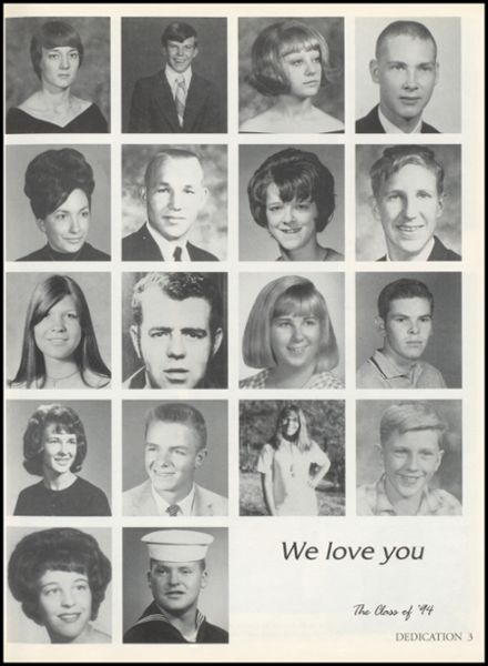 1994 Kingston High School Yearbook Page 7