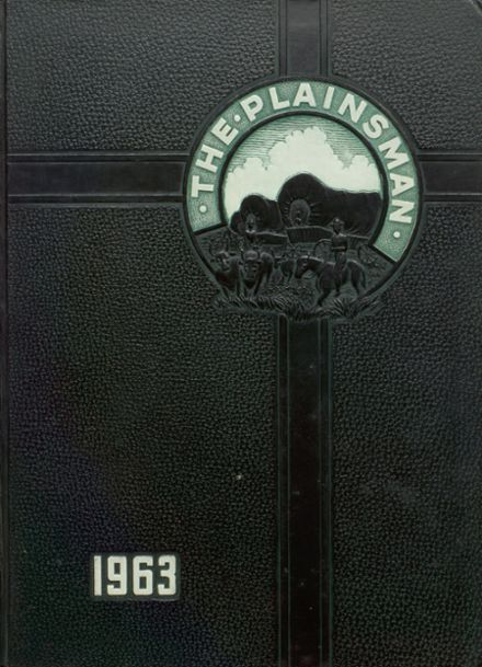 1963 Plainfield High School Yearbook Cover