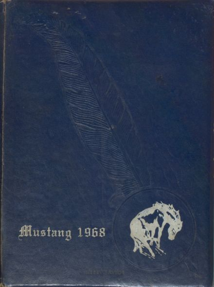 1968 Lone Jack High School Yearbook Cover