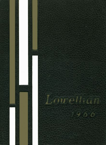 1966 Lowell High School Yearbook Cover