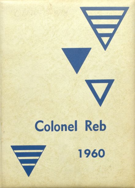 1960 Natchez High School Yearbook Cover