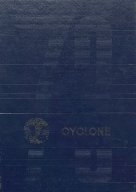 1973 Denver High School Yearbook Cover