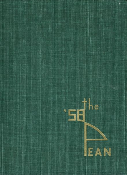 1958 Phillips Exeter Academy Yearbook Cover
