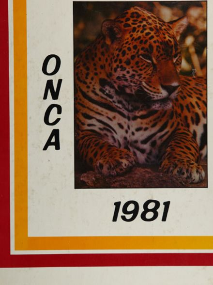 1981 Ontario High School Yearbook Cover