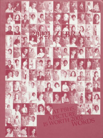2002 Pine Bluff High School Yearbook Cover