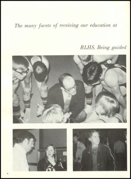 1972 Rib Lake High School Yearbook Page 8