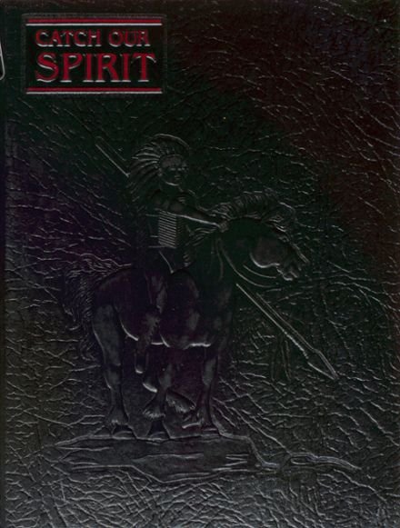 1987 Cheney High School Yearbook Cover