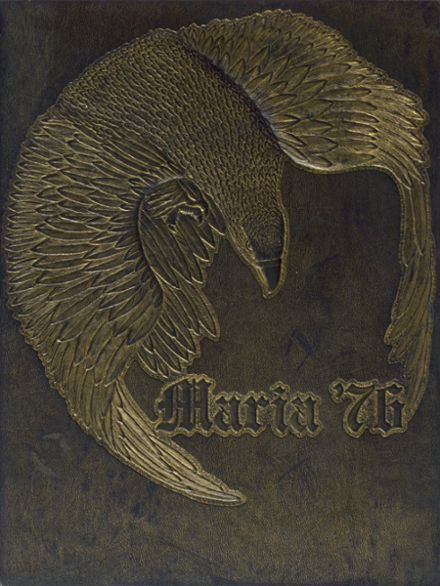 1976 Maria High School Yearbook Cover