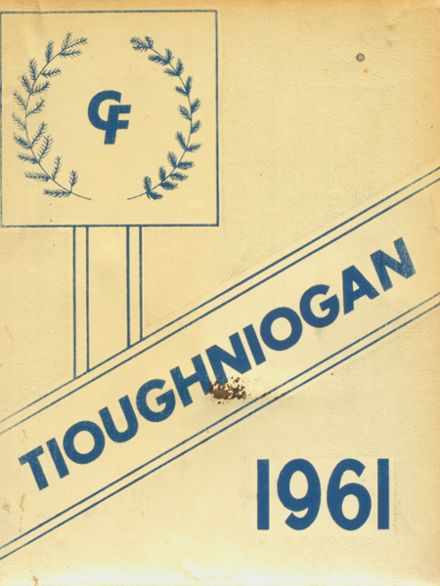 1961 Chenango Forks High School Yearbook Cover