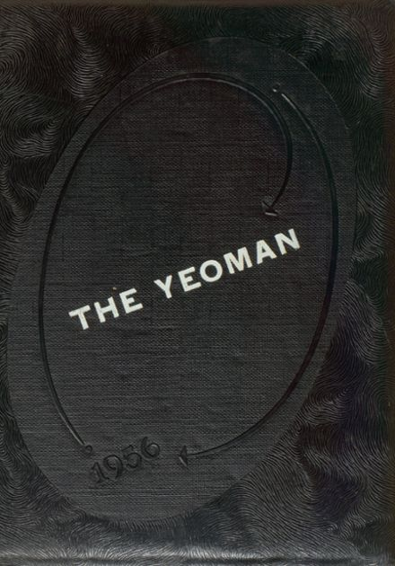1956 Freeborn High School Yearbook Cover