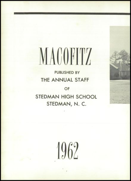 1962 Stedman High School Yearbook Page 6