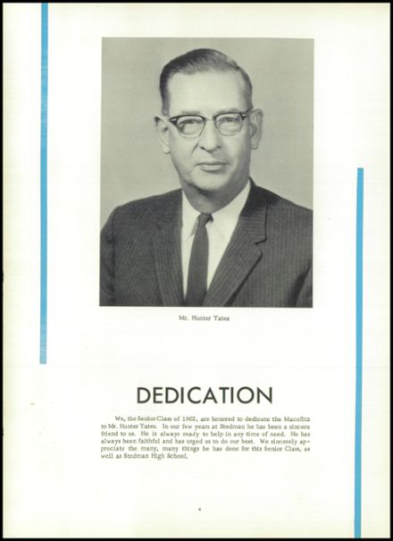 1962 Stedman High School Yearbook Page 8