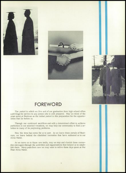 1962 Stedman High School Yearbook Page 9