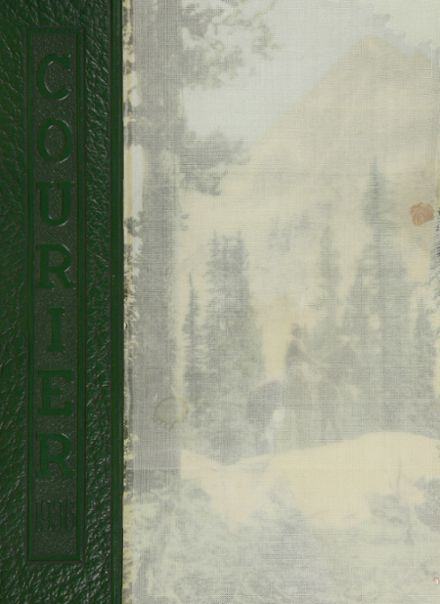 1936 Boise High School Yearbook Cover