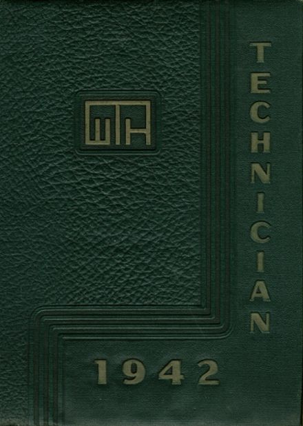 1942 West Technical High School Yearbook Cover