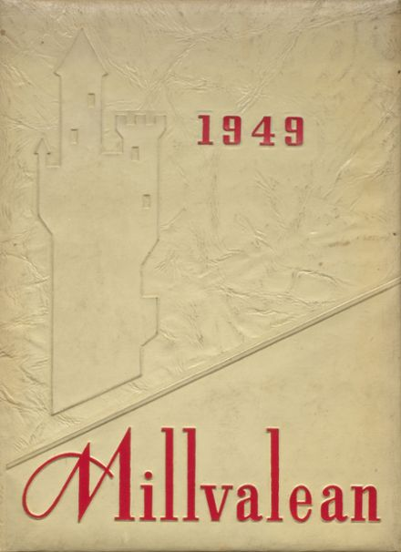 1949 Millvale High School Yearbook Cover