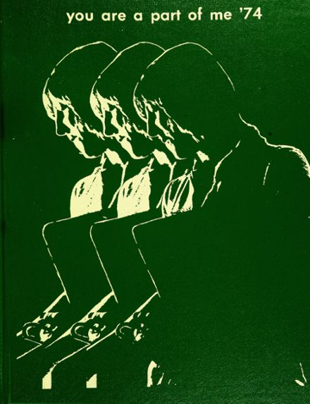 1974 Chandler High School Yearbook Cover