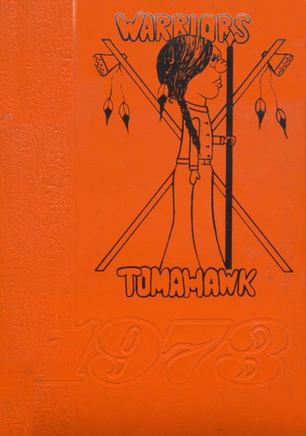 1973 Apache High School Yearbook Cover