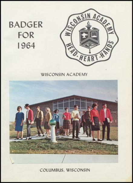 1964 Wisconsin Academy Yearbook Page 5