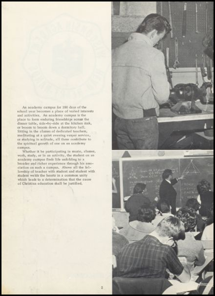 1964 Wisconsin Academy Yearbook Page 6