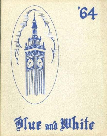 1964 Classical High School Yearbook Cover