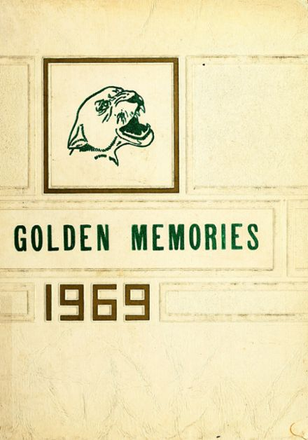 1969 Colonel White High School Yearbook Cover