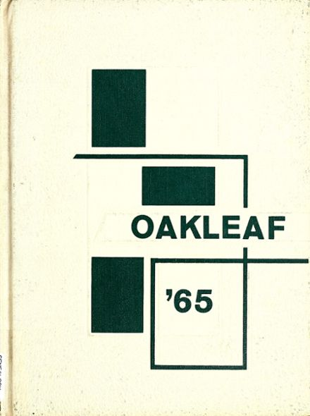 1965 Auglaize-Brown High School Yearbook Cover