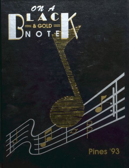 1993 Traverse City High School Yearbook Cover