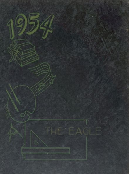 1954 Qulin High School Yearbook Cover