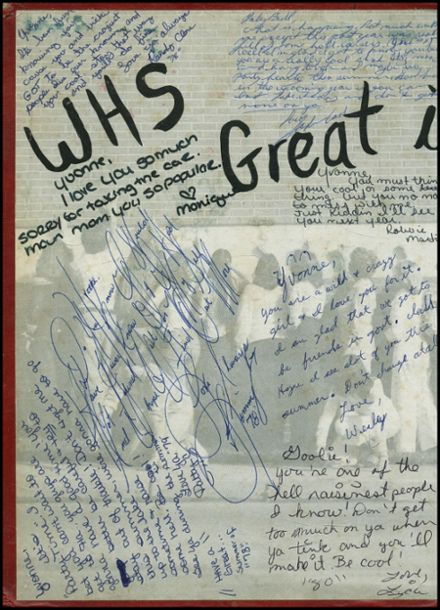 1978 Wills High School Yearbook Page 2