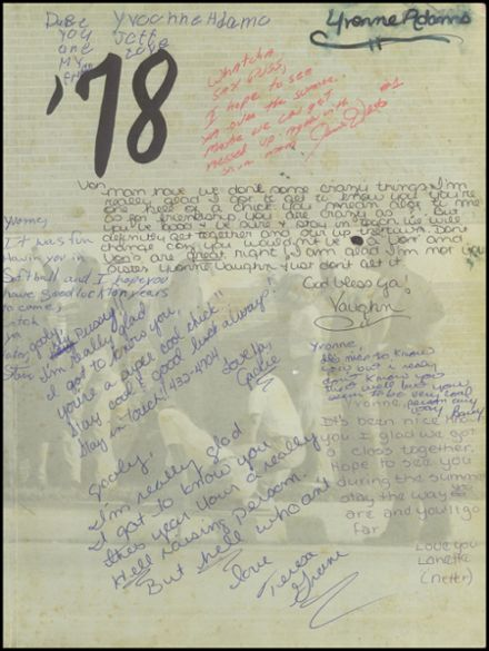 1978 Wills High School Yearbook Page 3