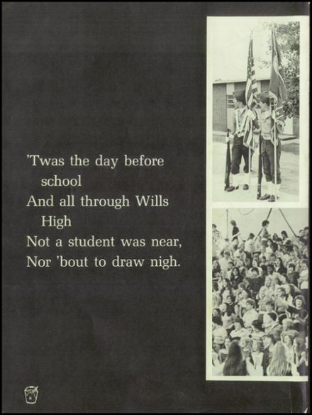 1978 Wills High School Yearbook Page 6