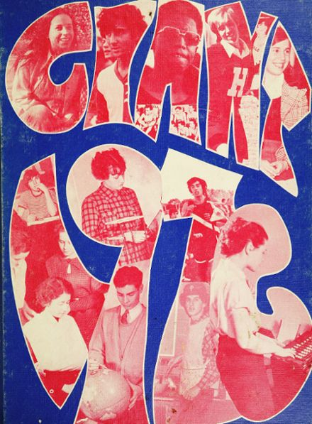 1976 Highland Park High School Yearbook Cover