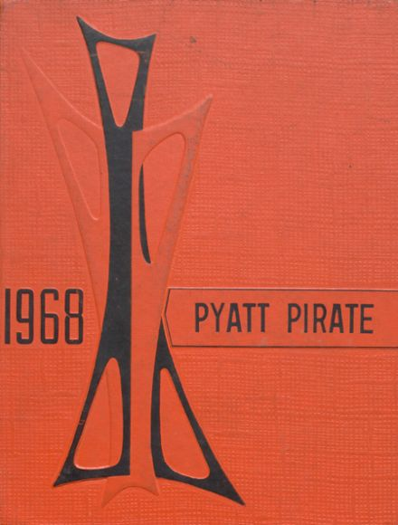 1968 Pyatt High School Yearbook Cover