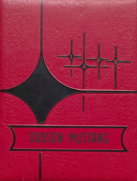1969 Dodson High School Yearbook Cover