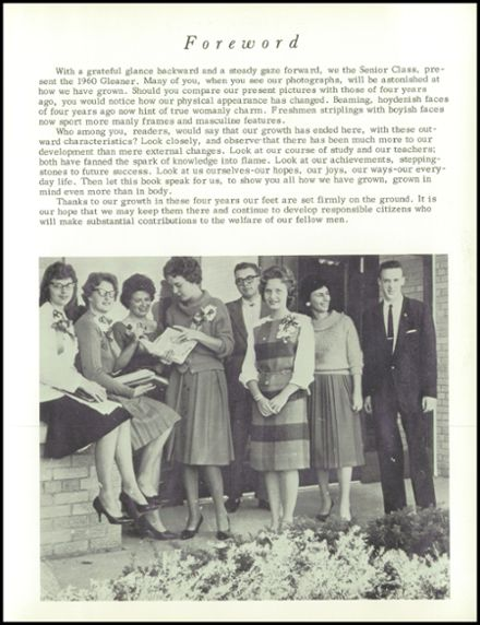1961 Reedsville High School Yearbook Page 7